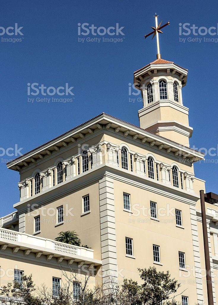 Scientology Superpower Building stock photo