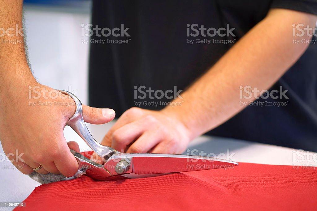 Scissors royalty-free stock photo