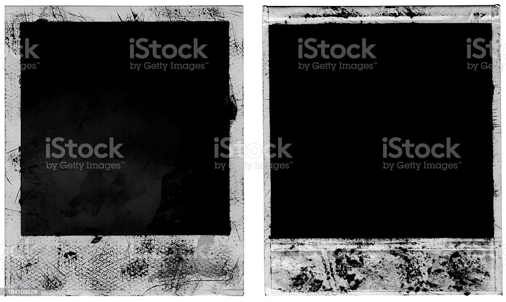 Scoffed Grungy Background Frames royalty-free stock photo