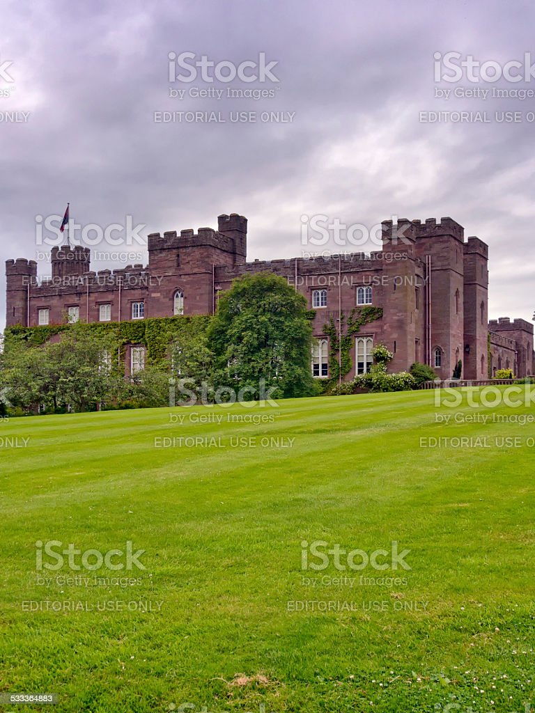 Scone Palace stock photo