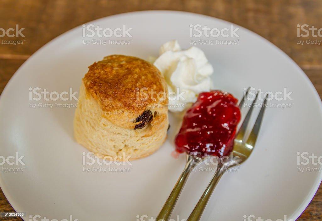 scone stock photo