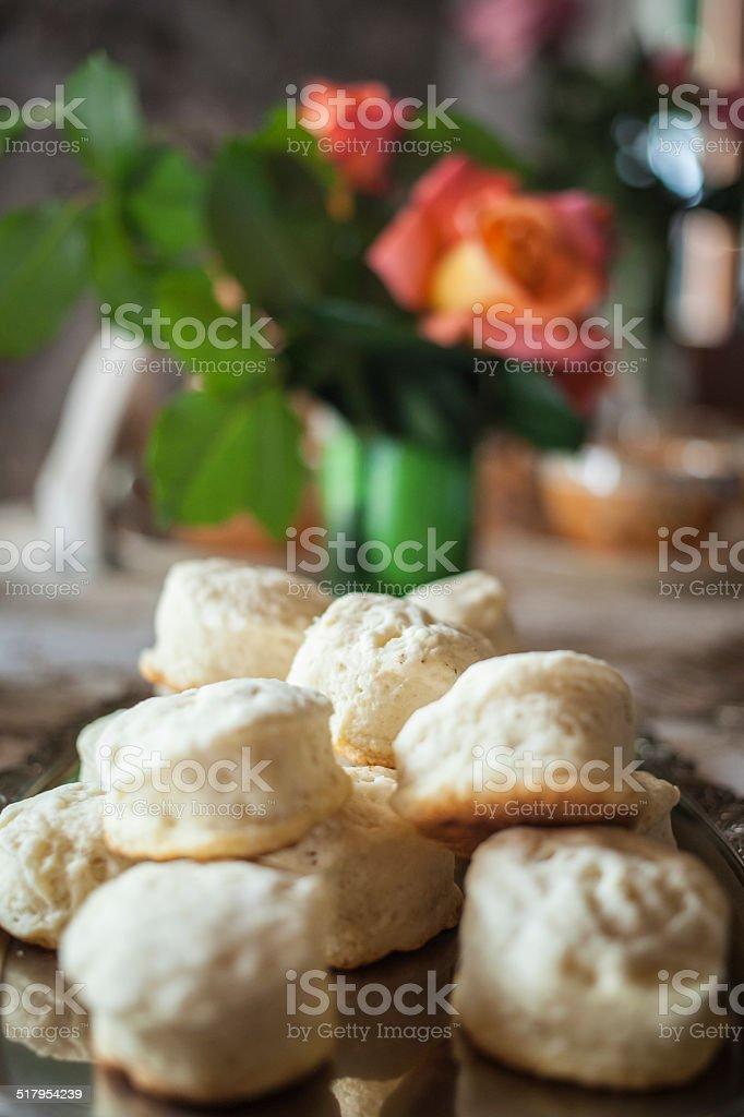 scones stock photo