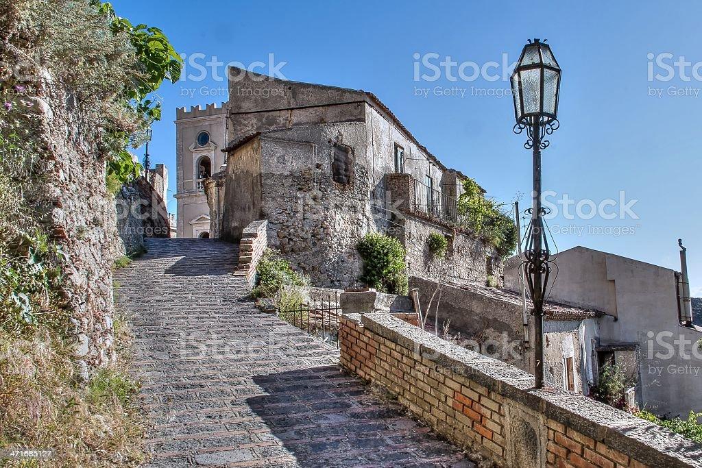 Scorci di Sicilia SAVOCA-ME stock photo