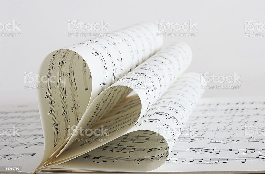 score sheet, music stock photo