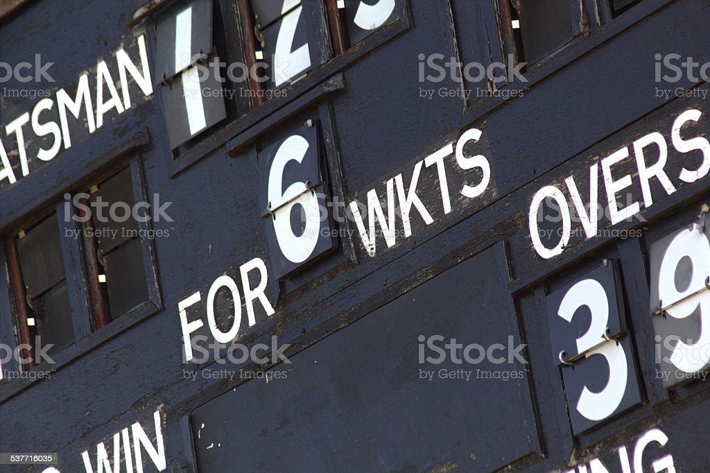 'Scores on the Doors' stock photo