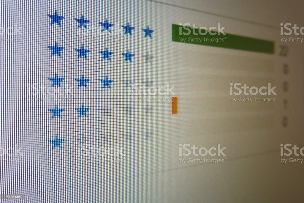 Scoring stock photo