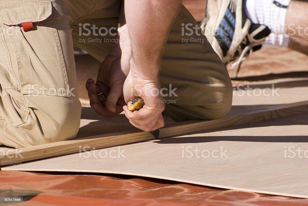 Scoring wood royalty-free stock photo
