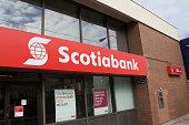 Scotiabank Logo on an Exterior Sign