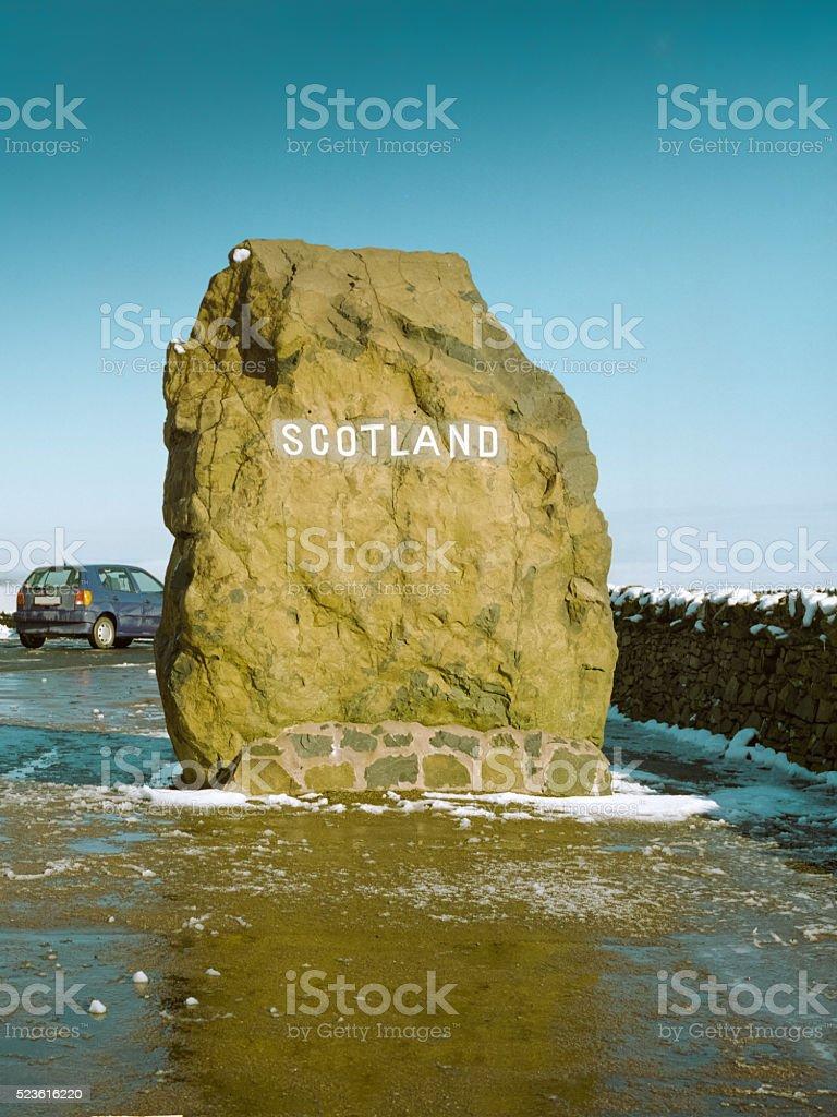Scotish English Border royalty-free stock photo