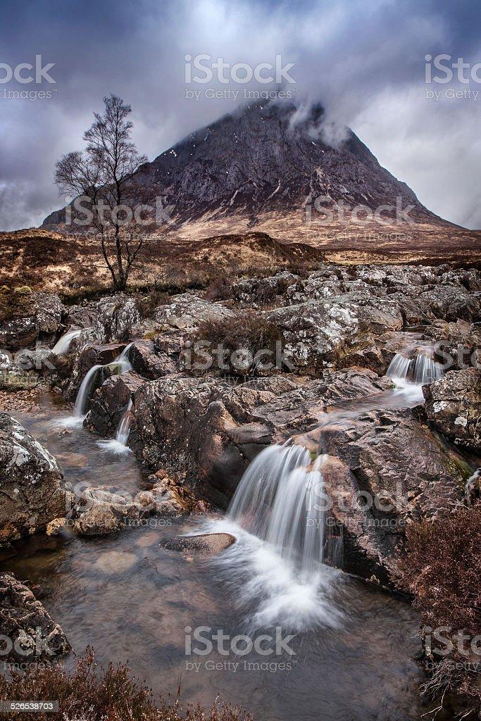 Scotish landscape stock photo
