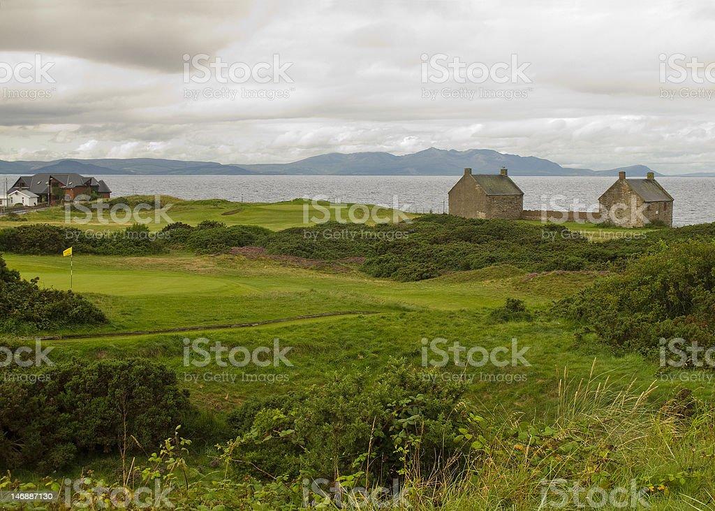 Scotland Golf - Prestwick St. Nicholas royalty-free stock photo