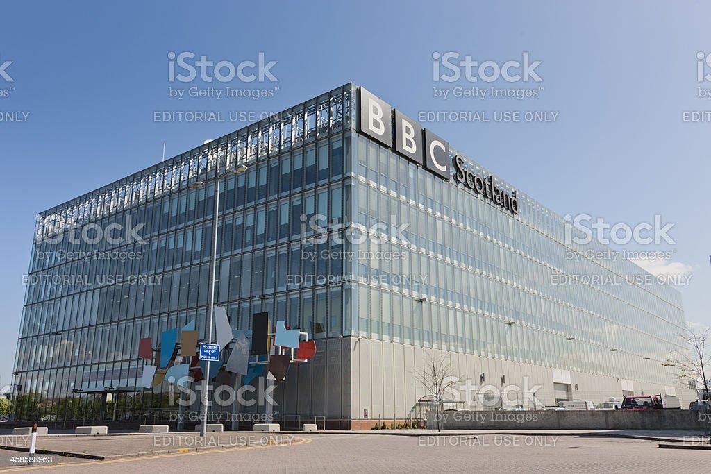 BBC Scotland Headquarters stock photo