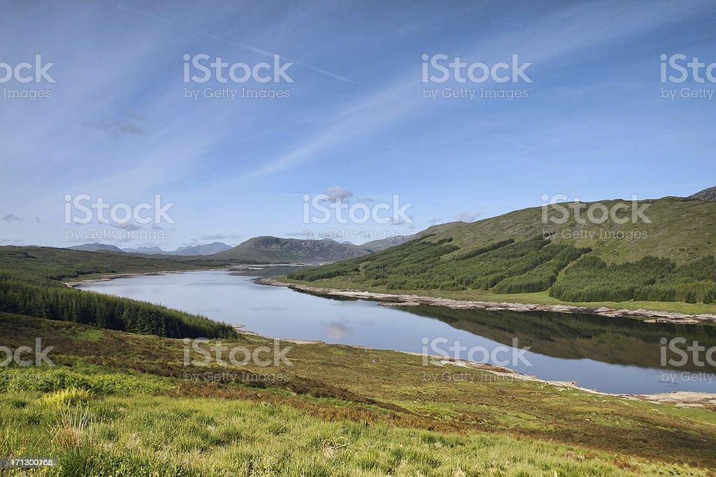 Scotland Highlands royalty-free stock photo