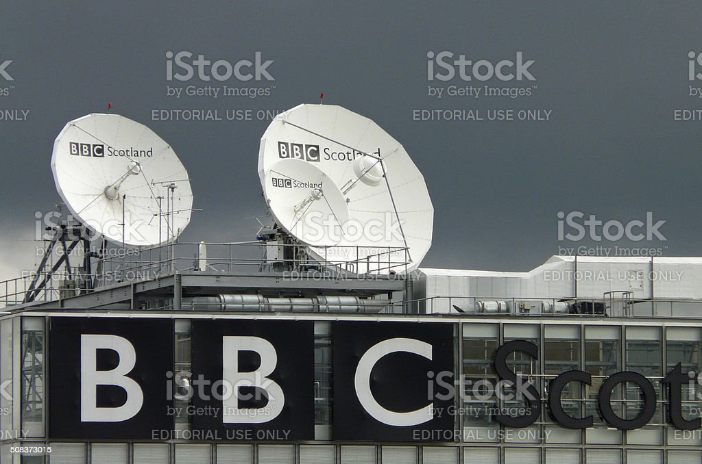 BBC Scotland HQ stock photo