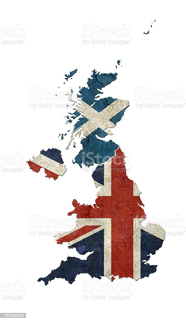 Scotland in the UK stock photo