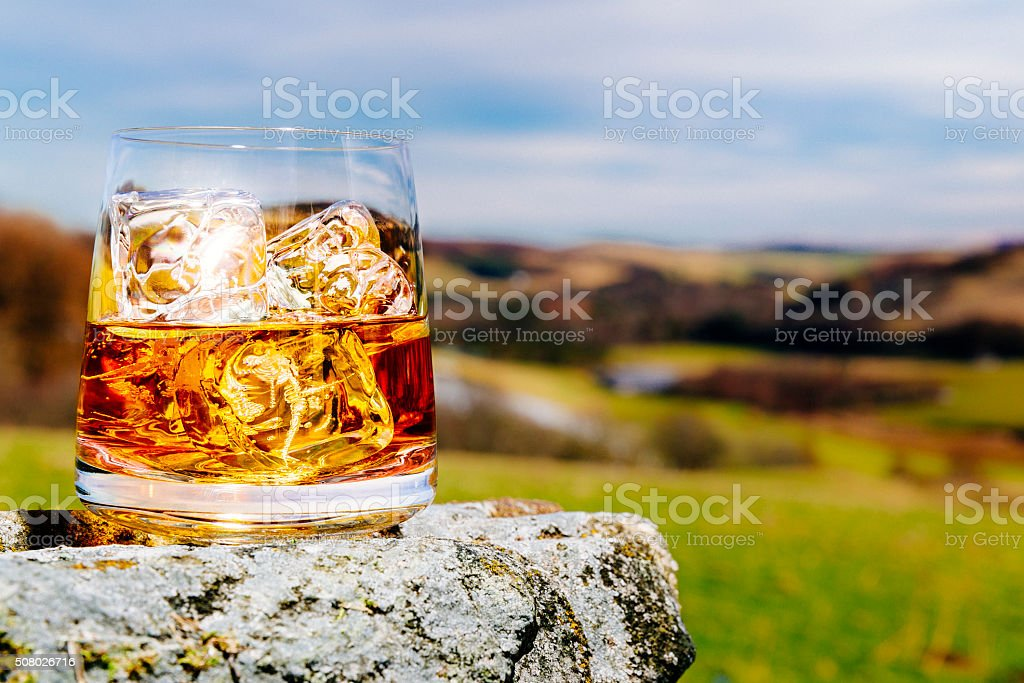 Scotland is Whisky country stock photo