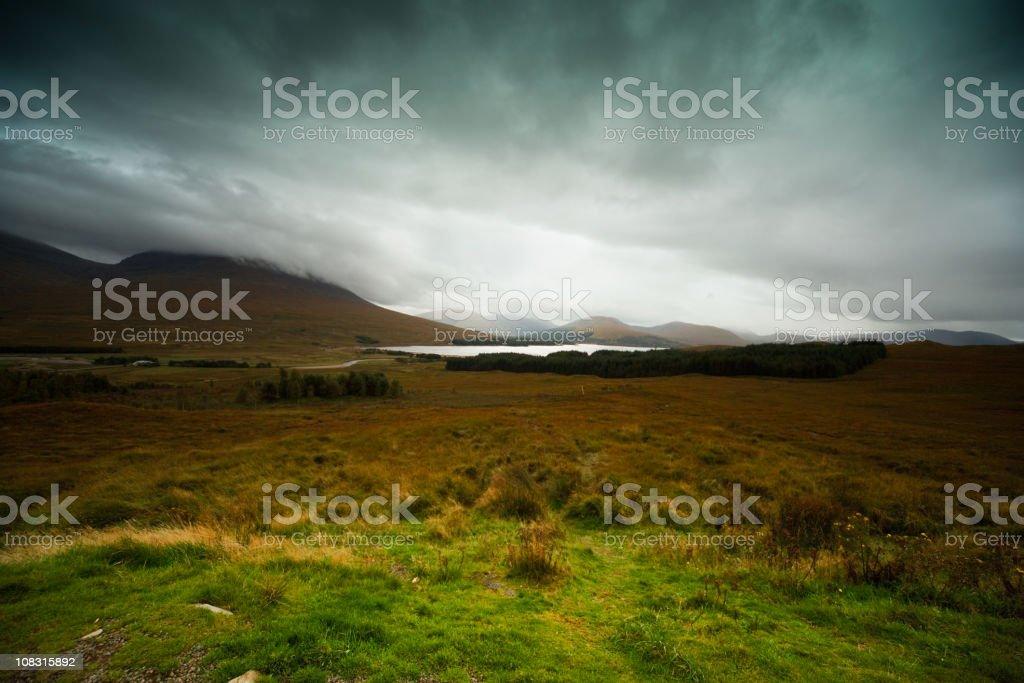 Scotland. Landscape. Glencoe stock photo