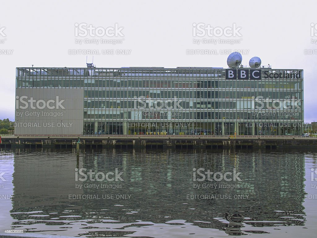 BBC Scotland royalty-free stock photo
