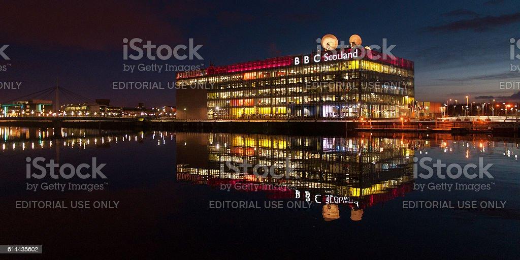 BBC Scotland stock photo