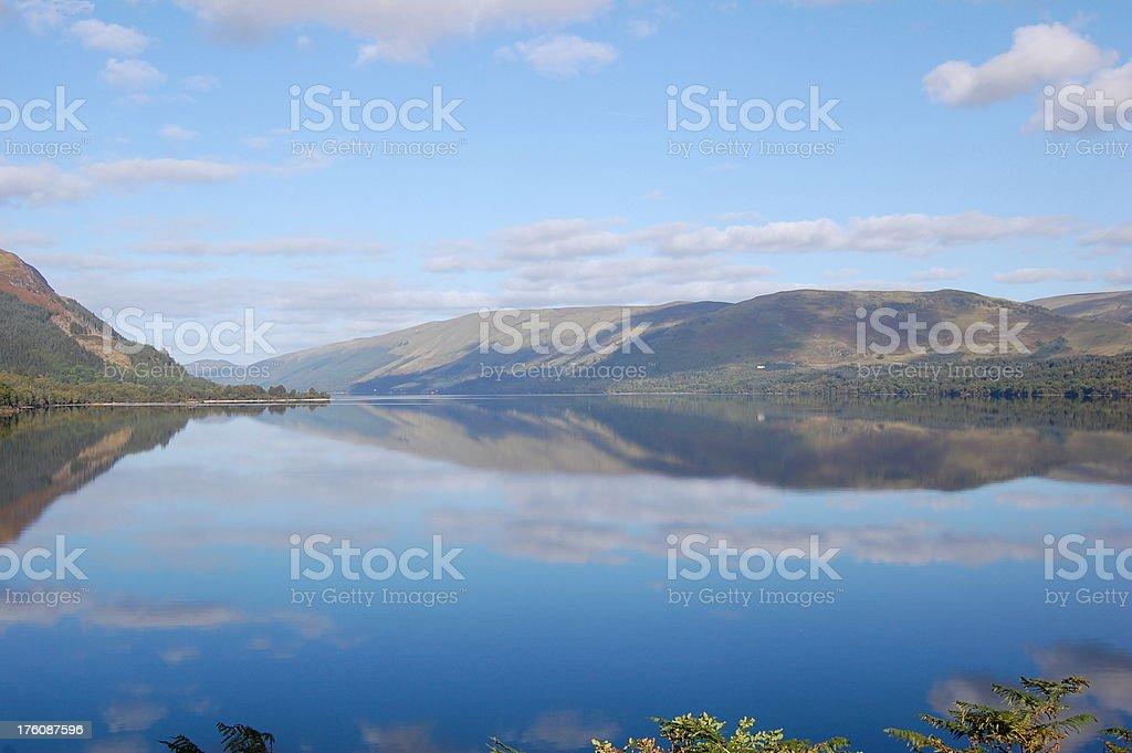 Scotland's Loch Lomand royalty-free stock photo