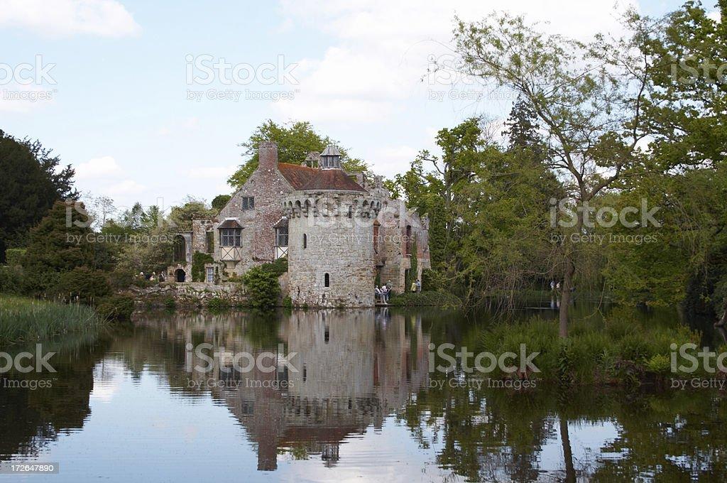 Scotney Castle 2 stock photo
