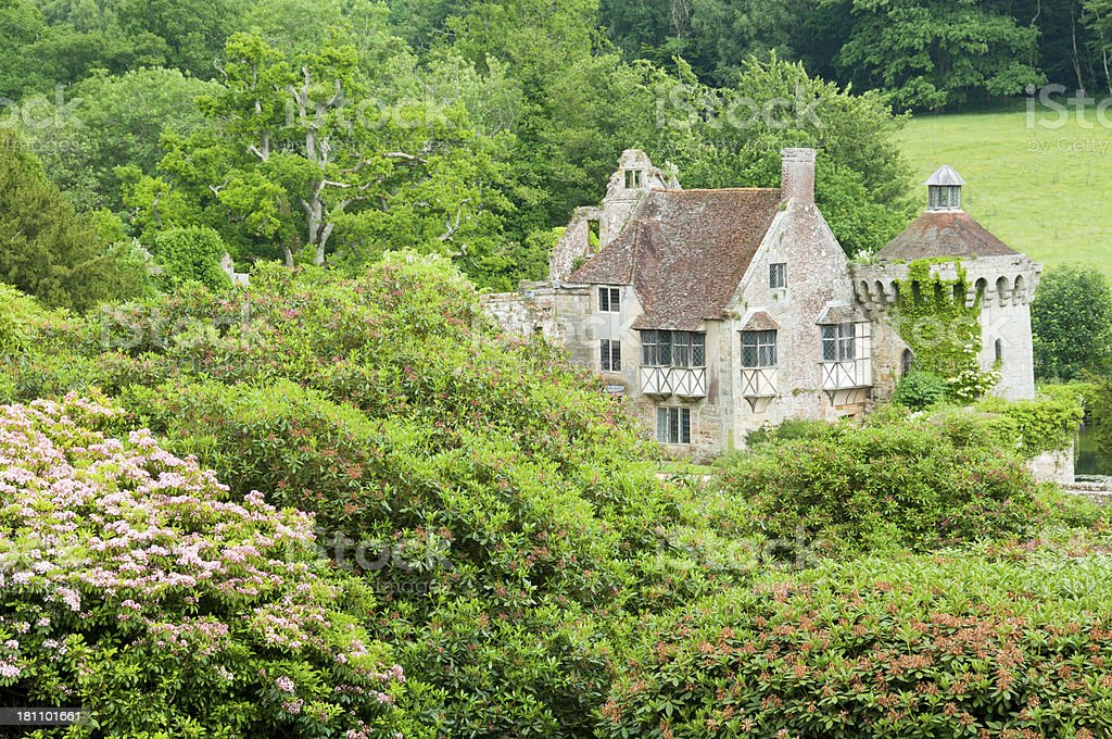 Scotney Castle - Kent, England royalty-free stock photo