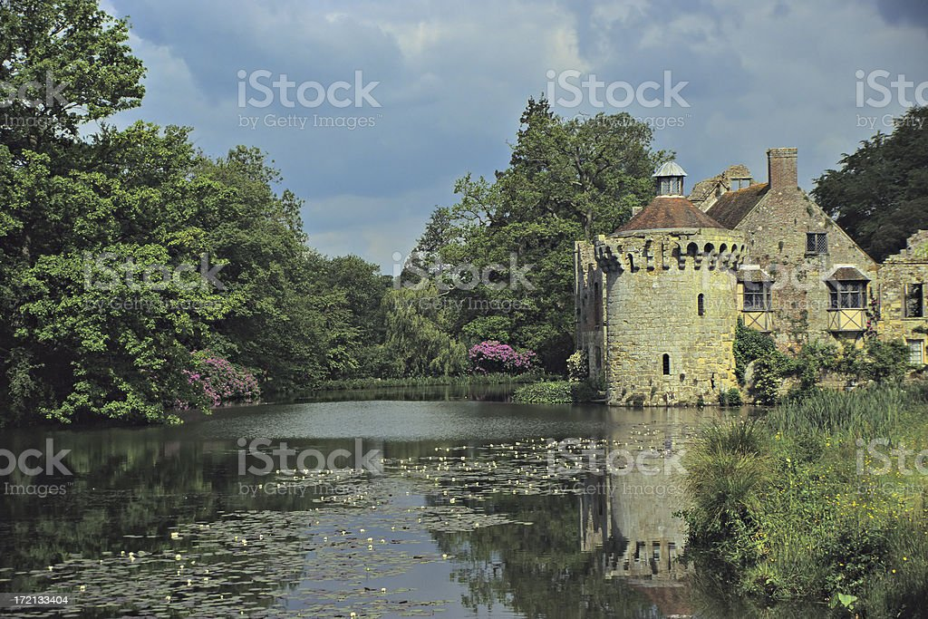 Scotney Castle royalty-free stock photo