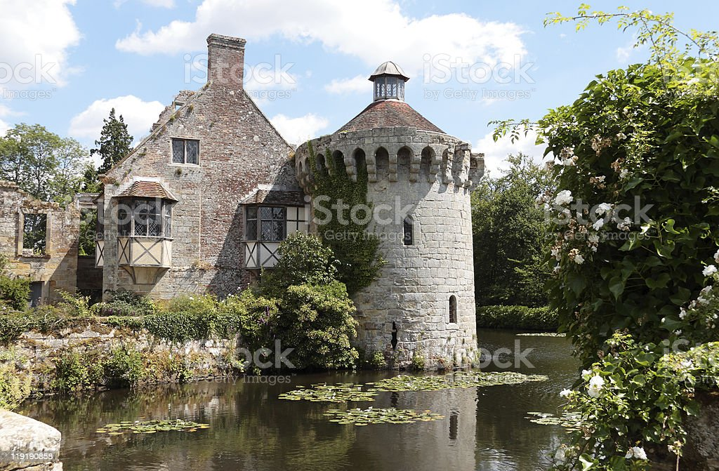Scotney Old Castle, Kent, England royalty-free stock photo