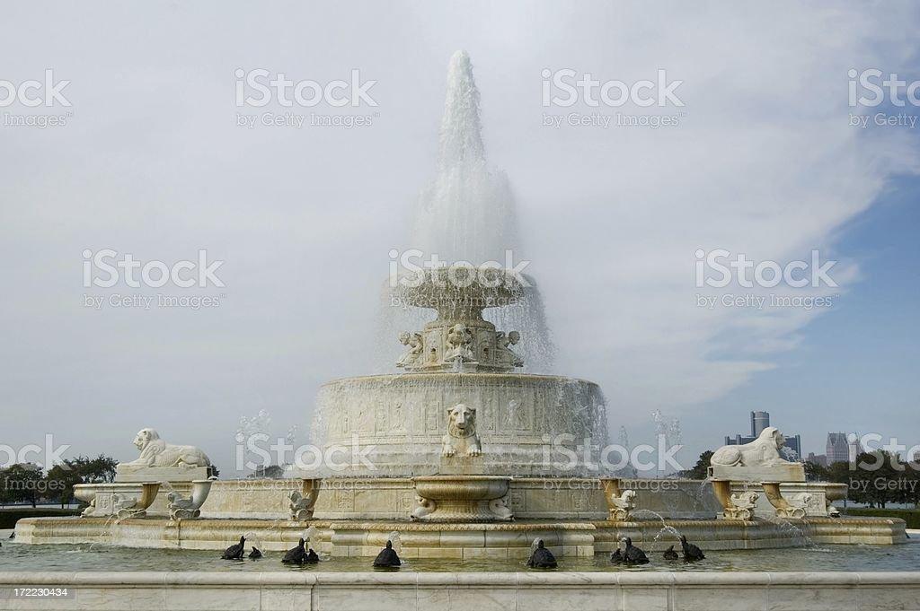 Scott Fountain royalty-free stock photo