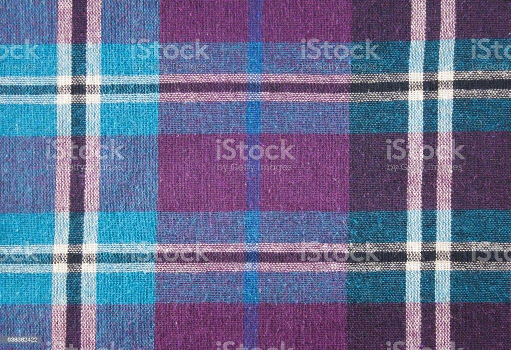 Scott pattern fabric stock photo