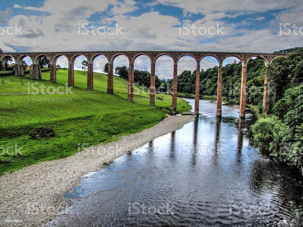 Scottish Aqueduct stock photo