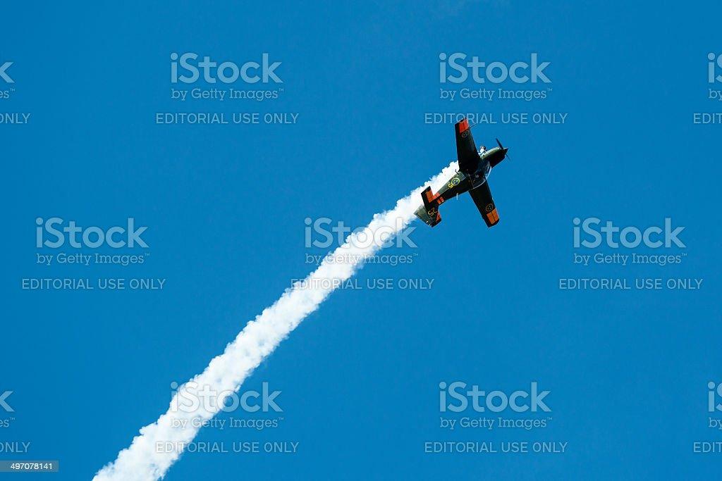 Scottish Aviation Bulldog stock photo