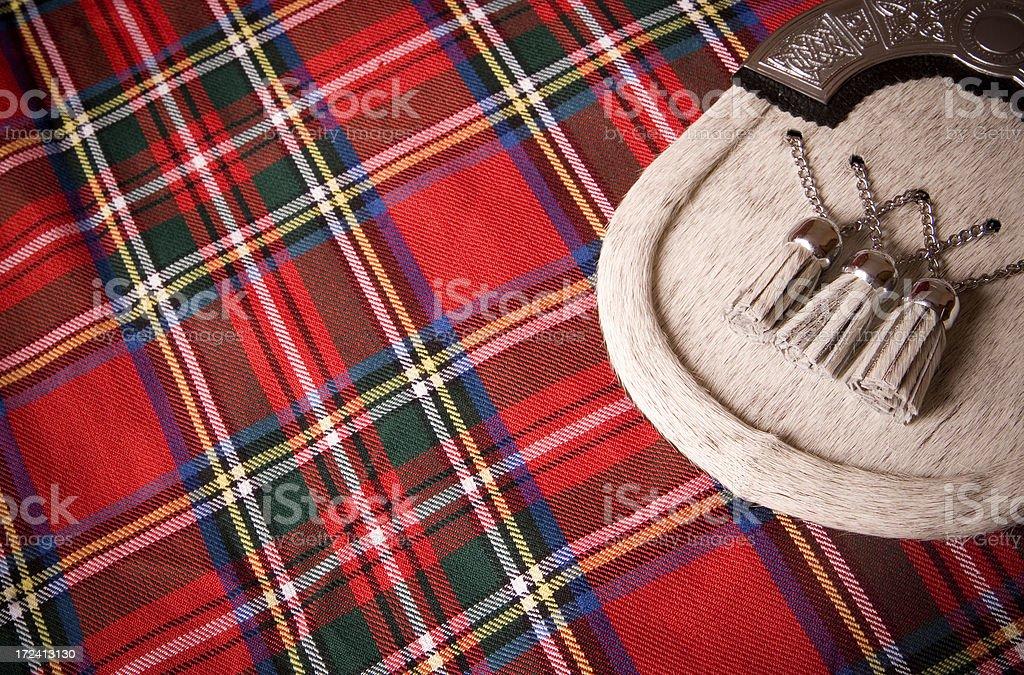 Scottish Background royalty-free stock photo