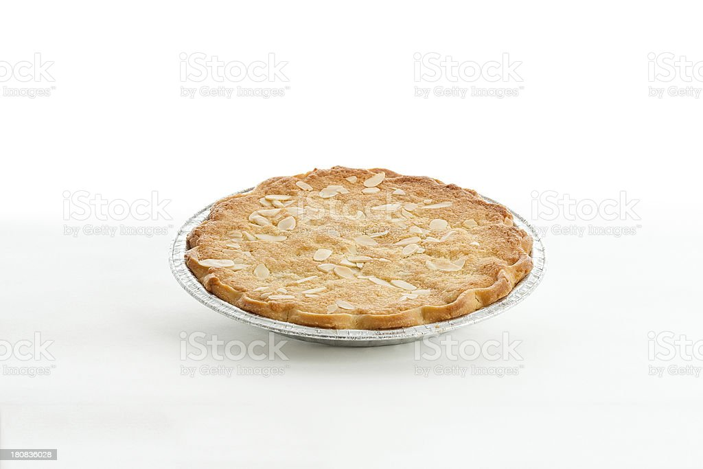 Scottish baking - Bakewell tart stock photo