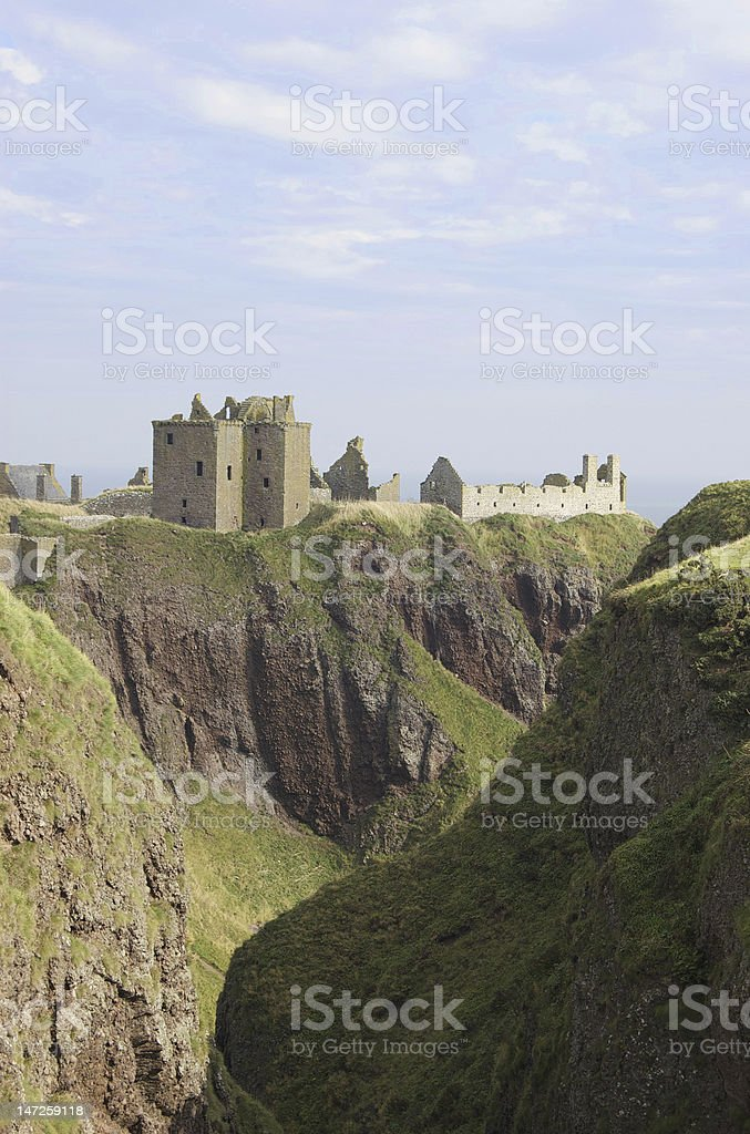Scottish Castle stock photo