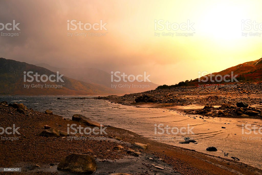 Scottish country scenery royalty-free stock photo