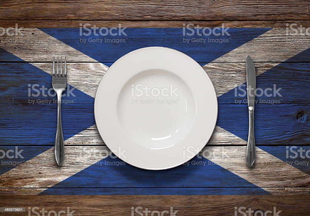 Scottish Cuisine stock photo