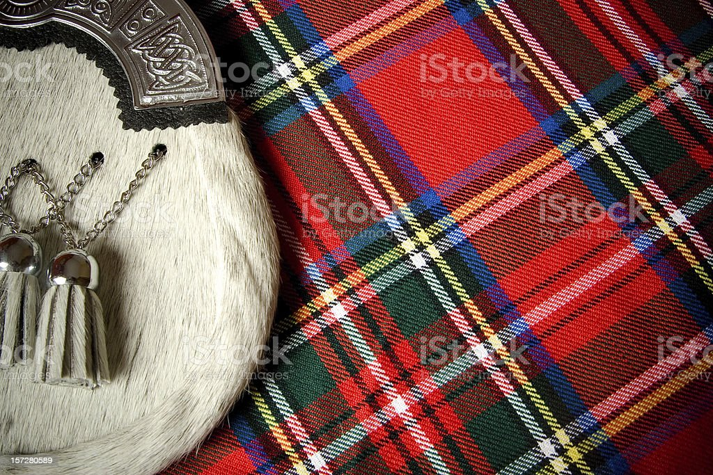 Scottish Culture stock photo