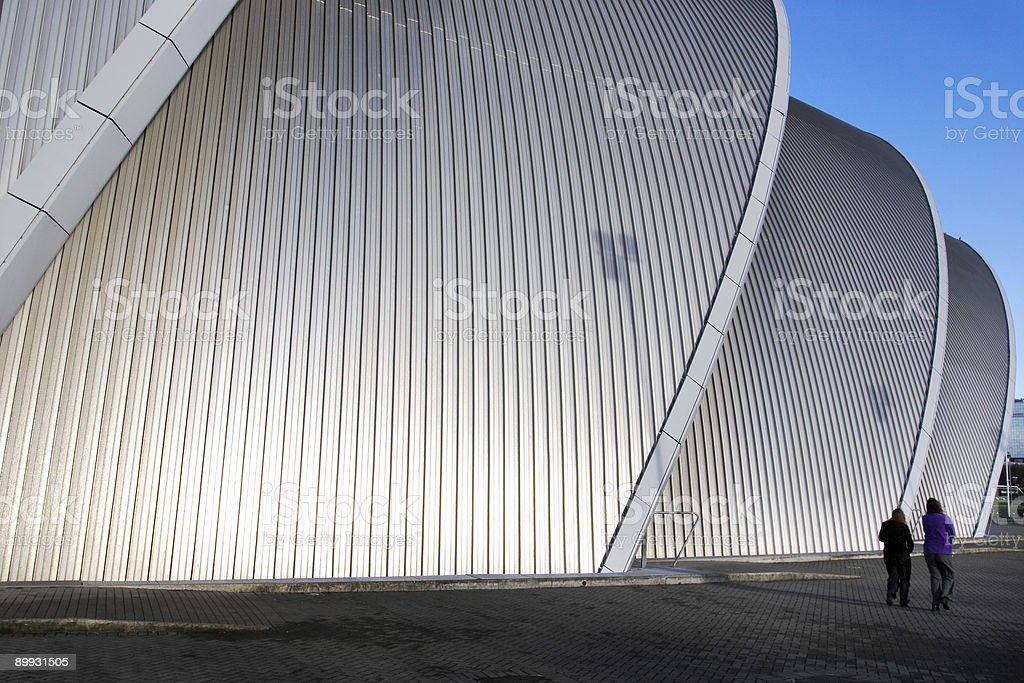 Scottish Exhibition and Conference Center (Glasgow) stock photo