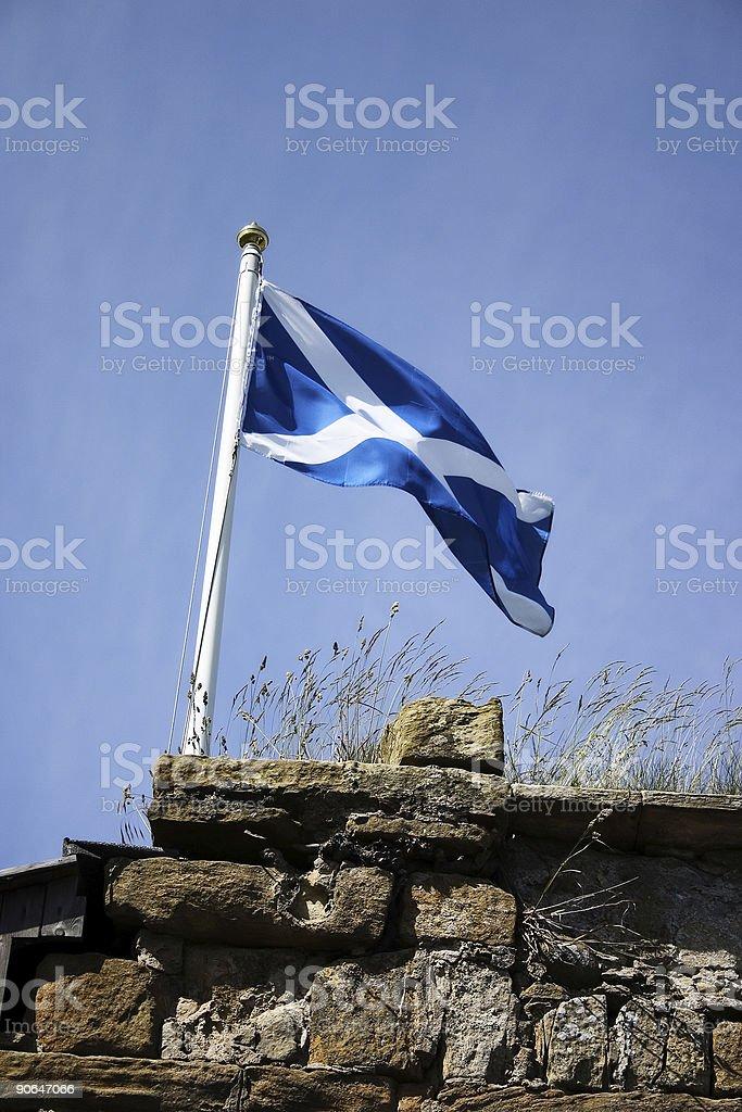 Drapeau écossais 2 photo libre de droits
