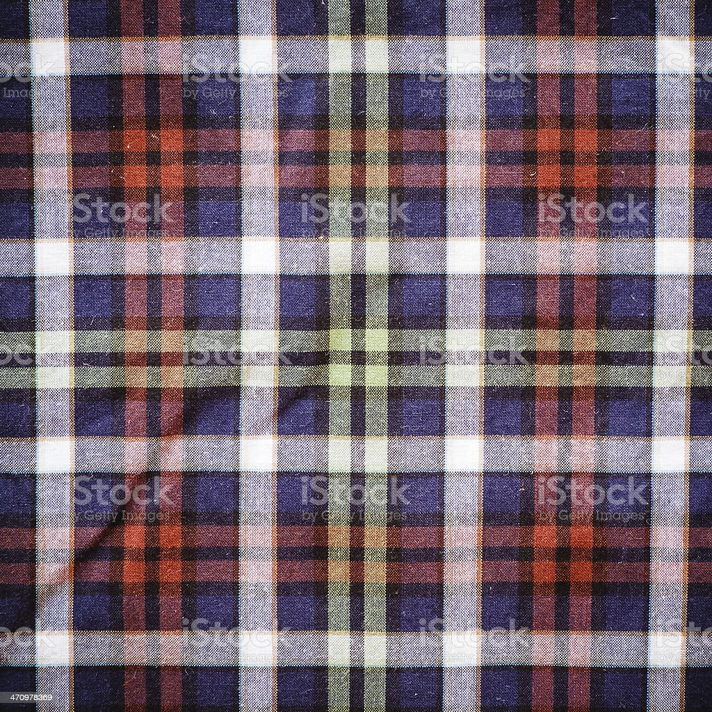 Scottish Green Blue Plaid Background royalty-free stock photo
