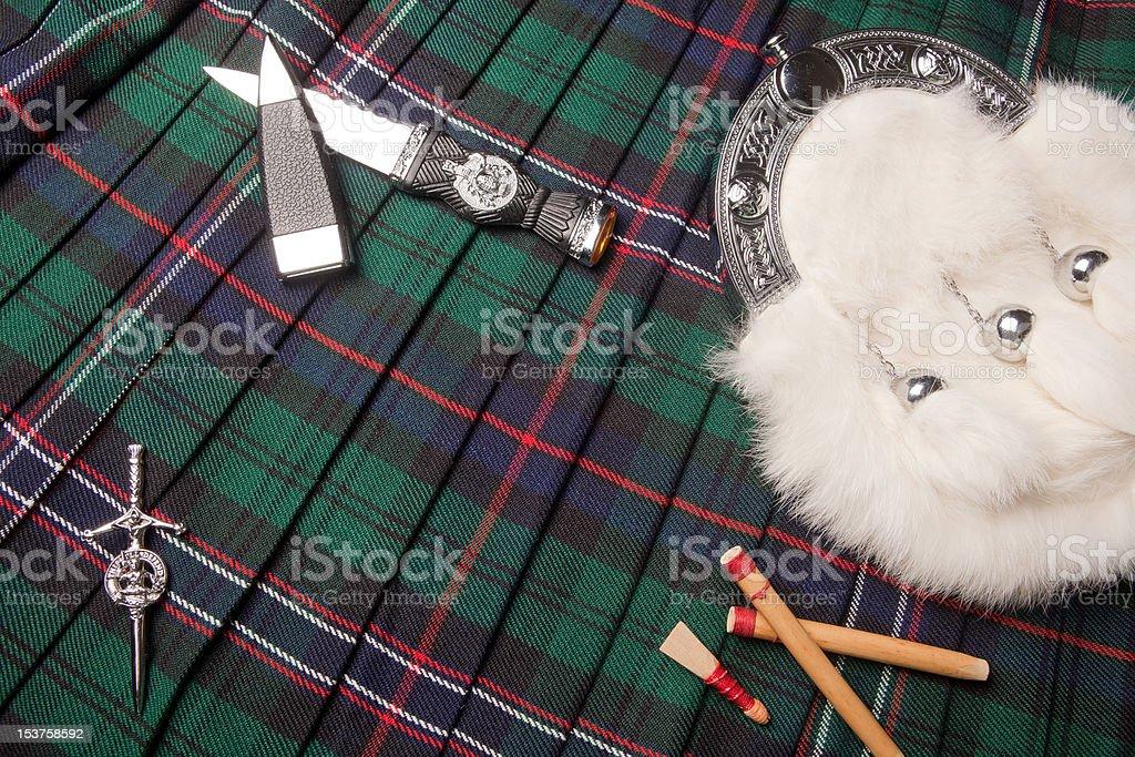 Scottish heritage stock photo