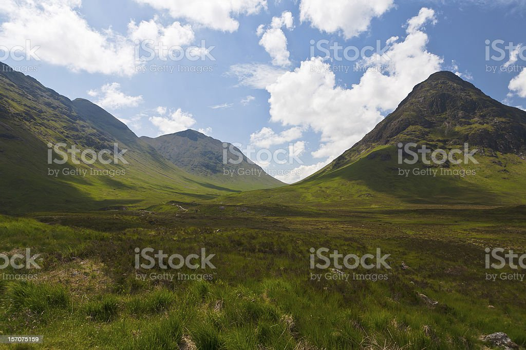 Scottish Highland royalty-free stock photo