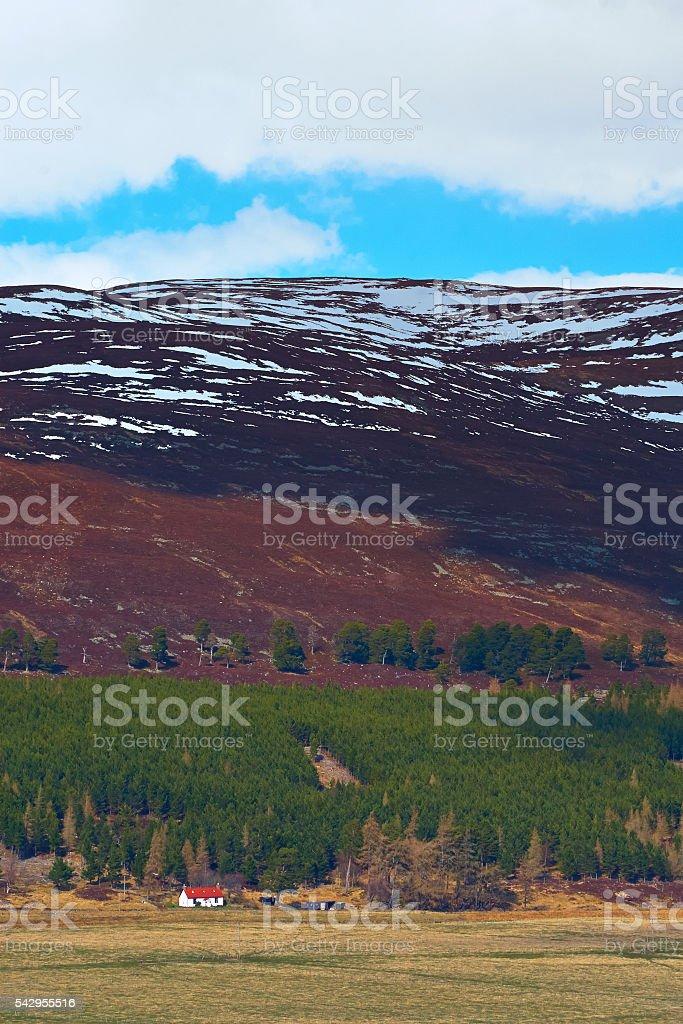 Scottish Highland Scenic stock photo