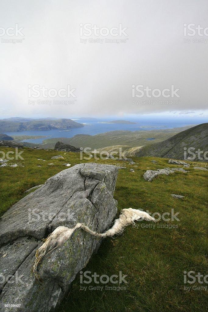 Scottish highlands and islands royalty-free stock photo
