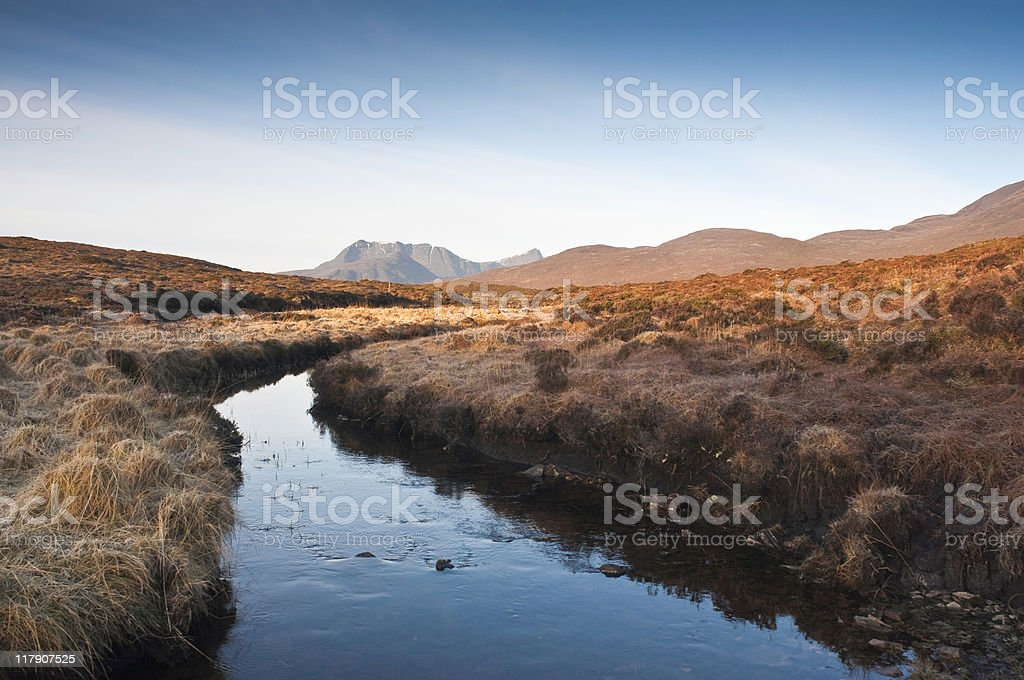 Scottish Highlands stock photo