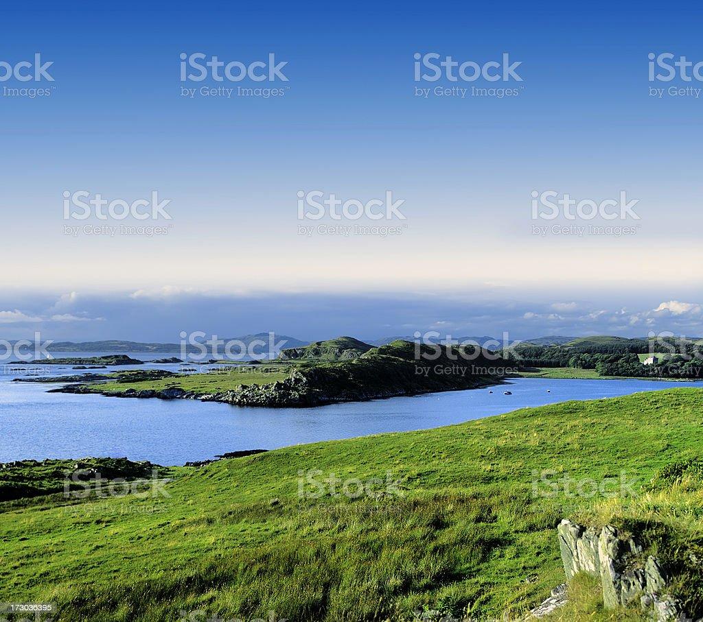 scottish highlands royalty-free stock photo