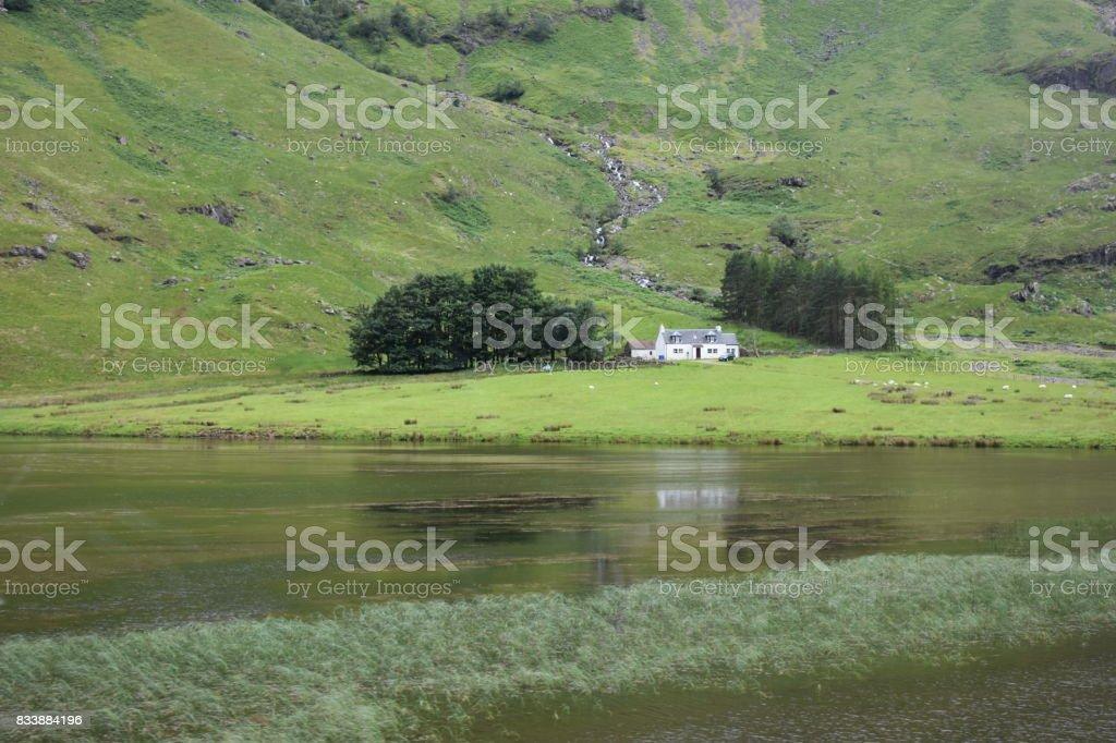 Scottish Highlands stock photo
