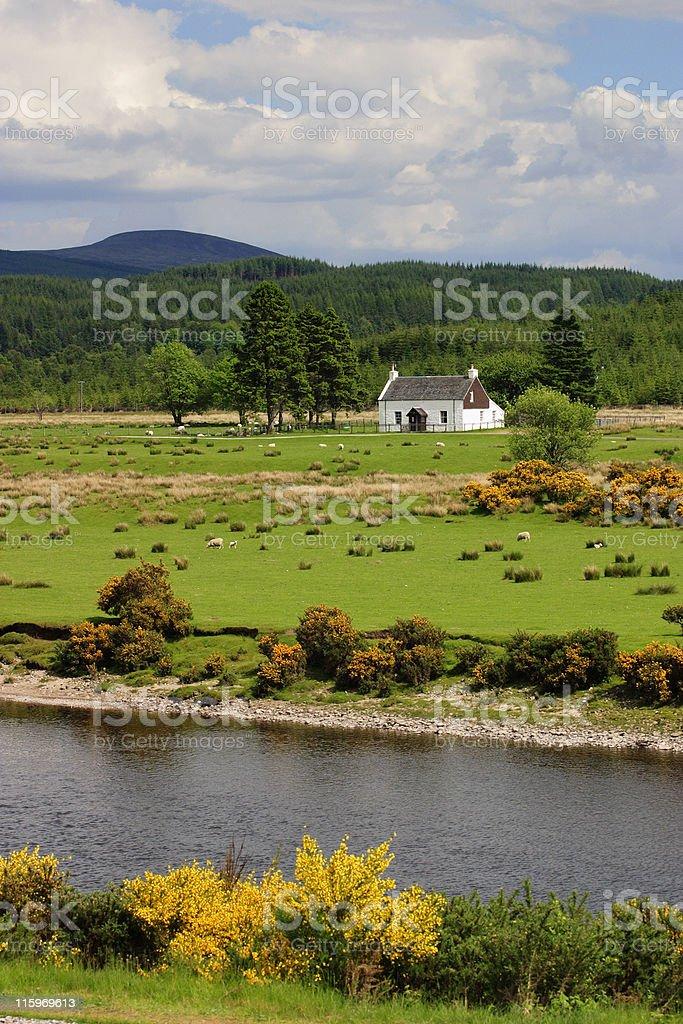 Scottish landscape royalty-free stock photo