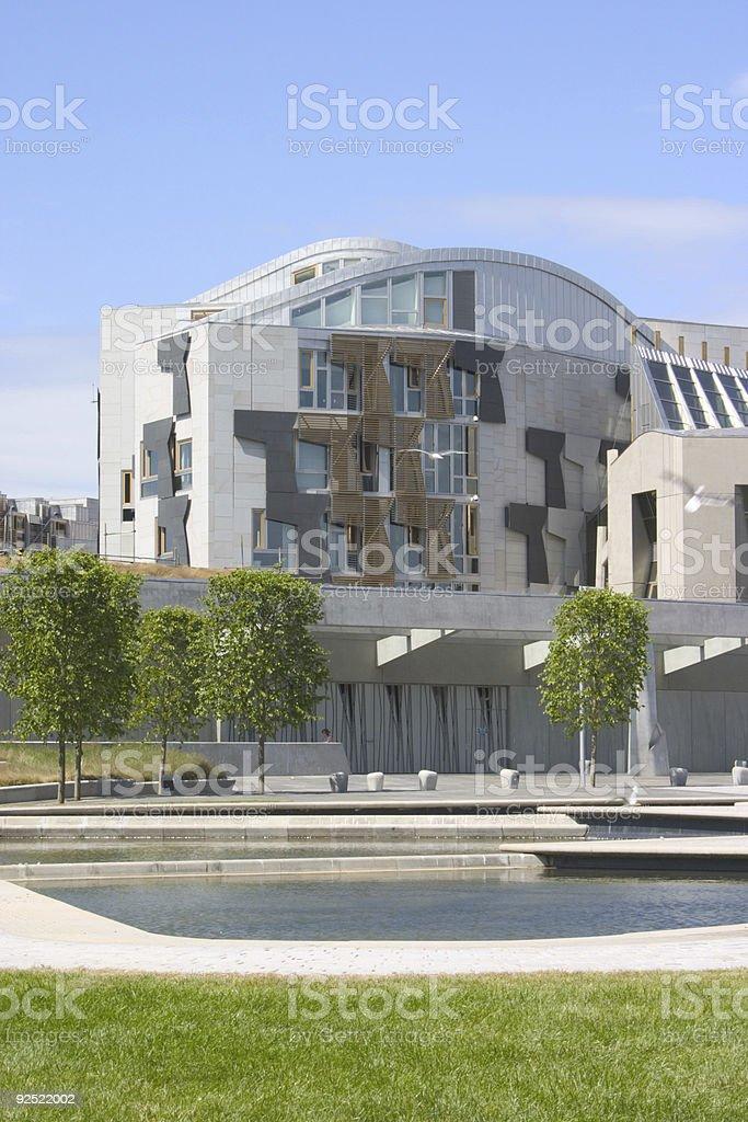 Parlement écossais 3 photo libre de droits